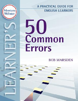50 Common Errors By Marsden, Bob